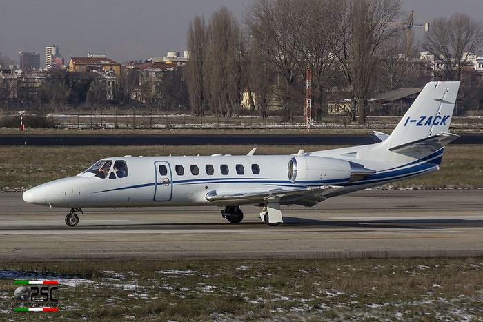 I-ZACK Ce560 Encore+ 560-0767 Compagnia Generale Ripreseaeree SpA @ Milano Linate Airport 30.12.2014 © Piti Spotter Club Verona