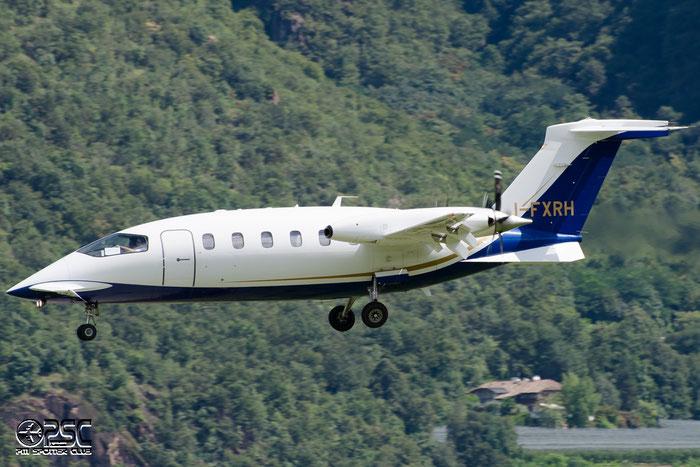 I-FXRH P180 1177 Foxair Srl @ Aeroporto di Bolzano © Piti Spotter Club Verona