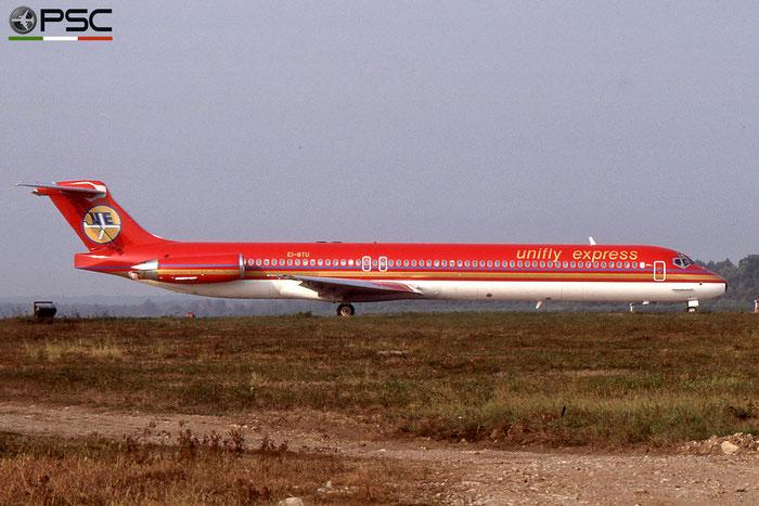 EI-BTU MD-83 49619/1483 Unifly Express © 2018 courtesy of Marco Ceschi - Piti Spotter Club Verona