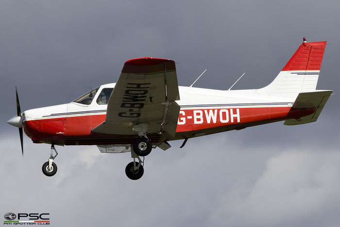 G-BWOH (1988 Piper PA-28-161 Cadet C/N 2841061) @ Gloucestershire Airport 2017 © Piti Spotter Club Verona
