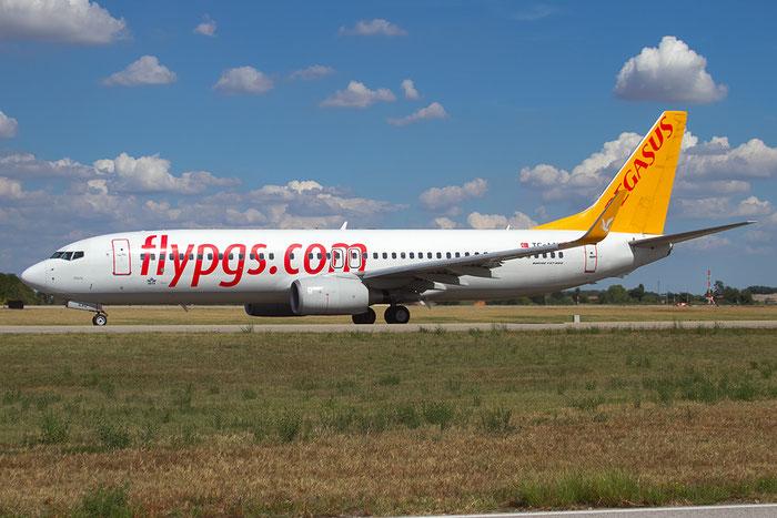 TC-AAU B737-82R 40873/3238 Pegasus Airlines @ Bologna Airport 20.08.2015 © Piti Spotter Club Verona
