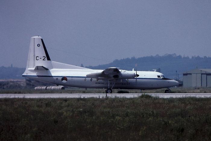 C-2   F27-100  10149 @ Aeroporto di Verona   © Piti Spotter Club Verona