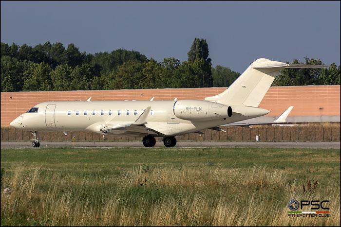 9H-FLN Global Express XRS 9353 Albiniti Aviation Ltd. © Piti Spotter Club Verona