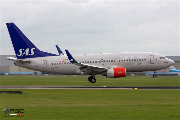 SE-REX B737-76N 33418/1226 SAS Scandinavian Airlines - Scandinavian Airlines System @ Innsbruck Airport 09.2013 © Piti Spotter Club Verona