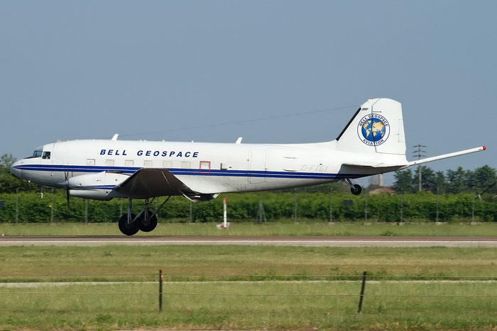C-FTGI Douglas (Basler) BT-67 Turbo-67 (DC-3) - C-FTGI @ Aeroporto di Verona © Piti Spotter Club Verona