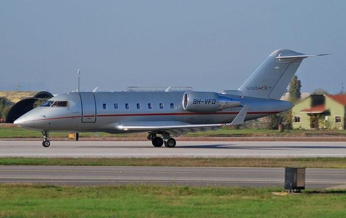 9H-VFD  CL-605  5973  VistaJet Malta @ Aeroporto di Verona 11.2020  © Piti Spotter Club Verona