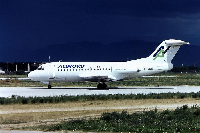 I-TIBB  F28-1000  11010  Alinord @ Aeroporto di Verona © Piti Spotter Club Verona