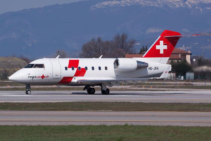 Bombardier CL-600-2B16 Challenger 604 - HB-JRA @ Aeroporto di Verona © Piti Spotter Club Verona