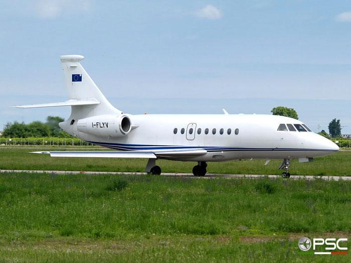 I-FLYV Falcon 2000 108 Eurofly Service @ Aeroporto di Verona 14.06.2008  © Piti Spotter Club Verona