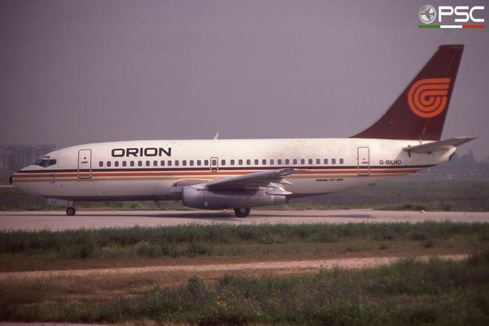 G-BKHO  B737-2T5  22979/950  Orion Airways  @ Aeroporto di Verona © Piti Spotter Club Verona