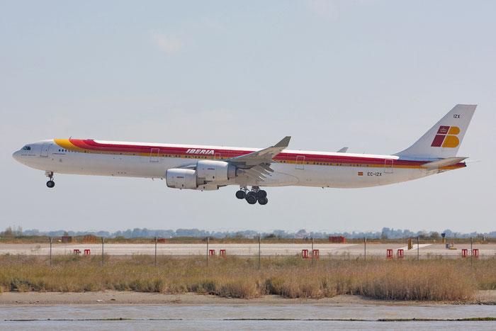 EC-IZX A340-642 601 Iberia Líneas Aéreas de España @ Venezia Airport 29.12.2011 © Piti Spotter Club Verona