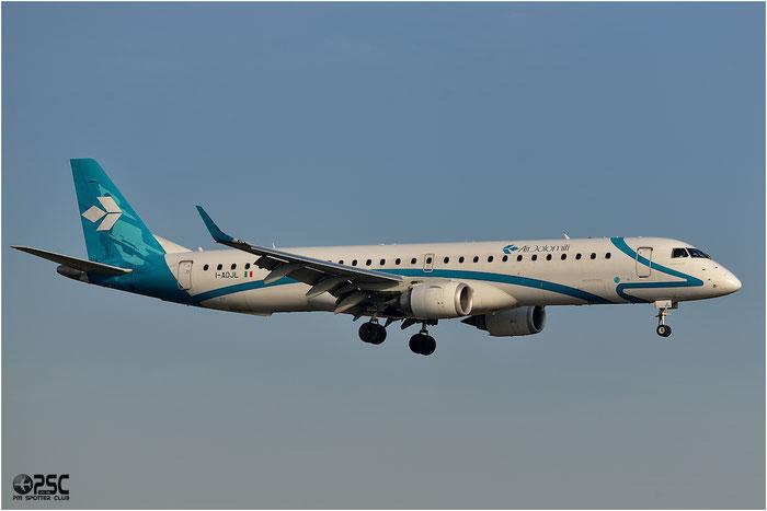 I-ADJL ERJ195LR 19000256 Air Dolomiti @ Bologna Airport 06.12.2013 © Piti Spotter Club Verona