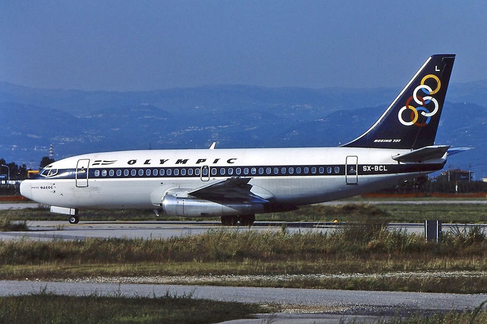 SX-BCL B737-284 22401/780 Olympic Airways @ Aeroporto di Verona © Piti Spotter Club Verona
