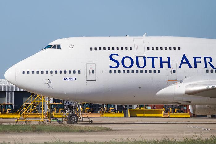 ZS-SAZ B747-444 29119/1187 South African Airways @ London Heathrow Airport 2010 © Piti Spotter Club Verona