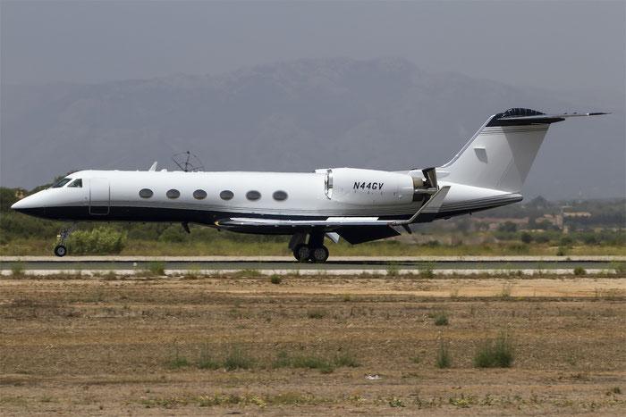 N44GV Gulfstream Aerospace G-IV GLF4 1305 Bank of Utah Trustee @ Palma de Mallorca Airport 07.2014 © Piti Spotter Club Verona
