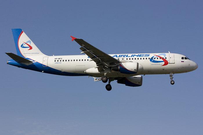 VP-BFZ A320-214 735 Ural Airlines @ Rimini Airport 21.07.2012 © Piti Spotter Club Verona