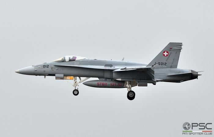 J-5012   F/A-18C-49-MC  1352/SFC012 © Piti Spotter Club Verona