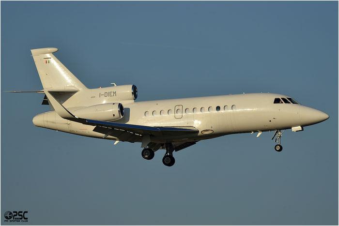 I-DIEM Falcon 900LX 253 CAI - Compagnia Aeronautica Italiana @ Bologna Airport 06.12.2013 © Piti Spotter Club Verona