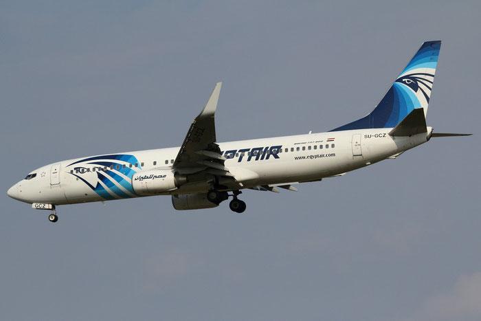 SU-GCZ B737-866 35568/2795 EgyptAir @ Milano Malpensa Airport 31.08.2014 © Piti Spotter Club Verona