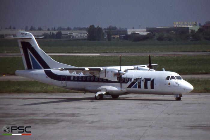 I-ATRJ ATR42-300 057 ATI - Aero Transporti Italiani © 2018 courtesy of Marco Ceschi - Piti Spotter Club Verona