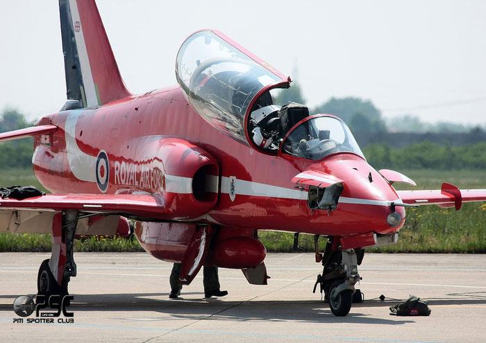 XX179   Hawk T1W  312026/026  Red Arrows  © Piti Spotter Club Verona