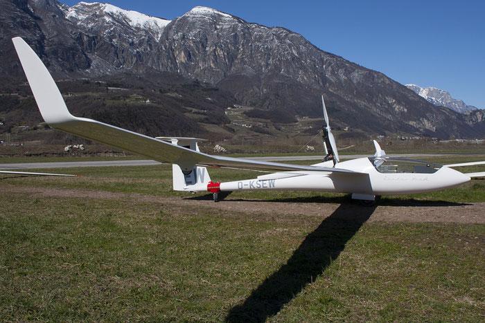 D-KSEW - Schempp-Hirth Ventus - Private @ Aeroporto di Trento © Piti Spotter Club Verona