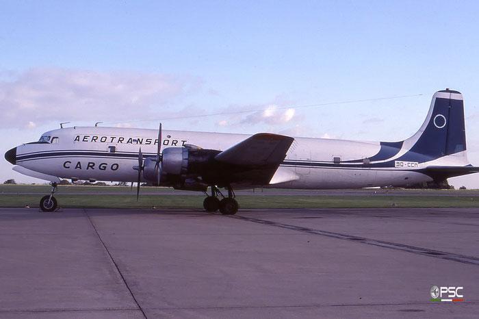 9Q-CCM Aerotransport Cargo Douglas DC-6B MSN: 45077-728 © 2017 courtesy of Marco Ceschi - Piti Spotter Club Verona