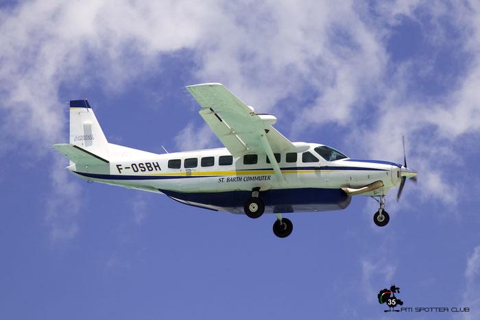 F-OSBH Cessna 208B 208B-2117 St. Barth Commuter @ Sint Maarten Airport 05.03.2016 © Piti Spotter Club Verona