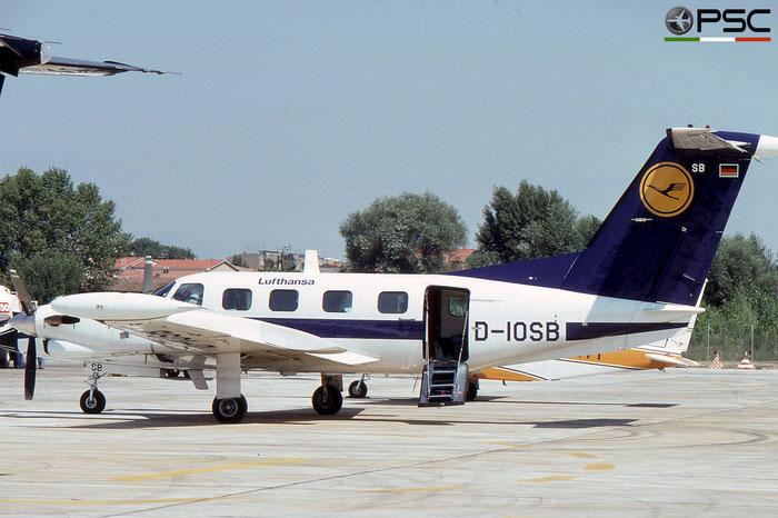 D-IOSB PA-42-720 42-5501042 Lufthansa Verkehrsfliegerschule © 2018 courtesy of Marco Ceschi - Piti Spotter Club Verona