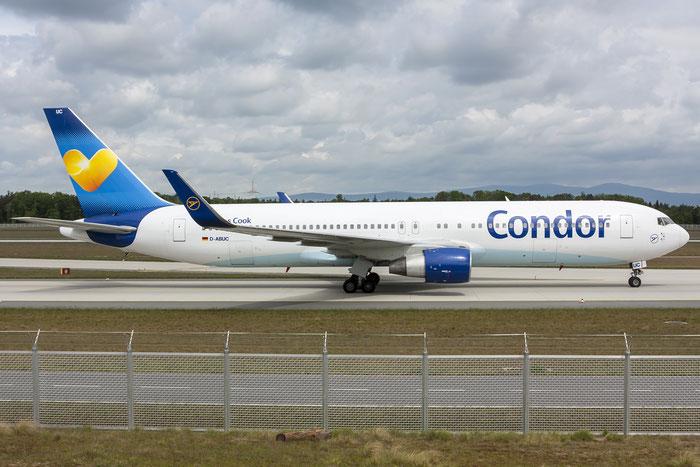 D-ABUC B767-330ER 26992/470 Condor Flugdienst @ Frankfurt Airport 08.05.2015 © Piti Spotter Club Verona