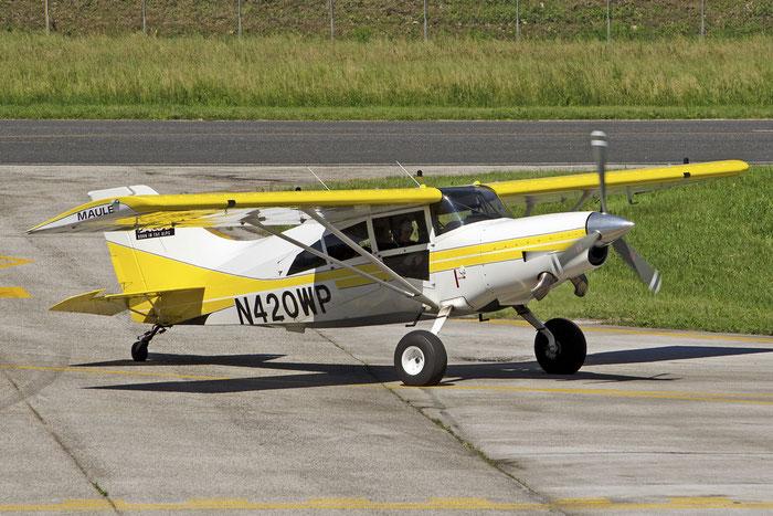 N420WP MAULE M-7-420AC M7 29004C R A LOTTER INSURANCE MARKETING INC @ Aeroporto di Trento © Piti Spotter Club Verona