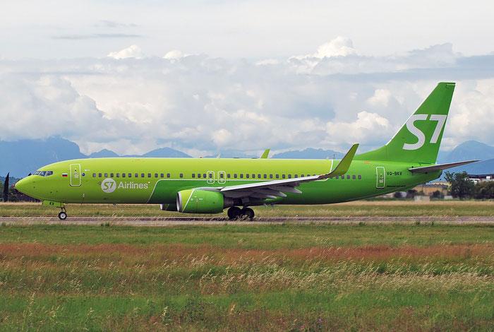 VQ-BKV B737-8ZS 37084/3605 S7 Airlines @ Aeroporto di Verona 14.05.2018  © Piti Spotter Club Verona
