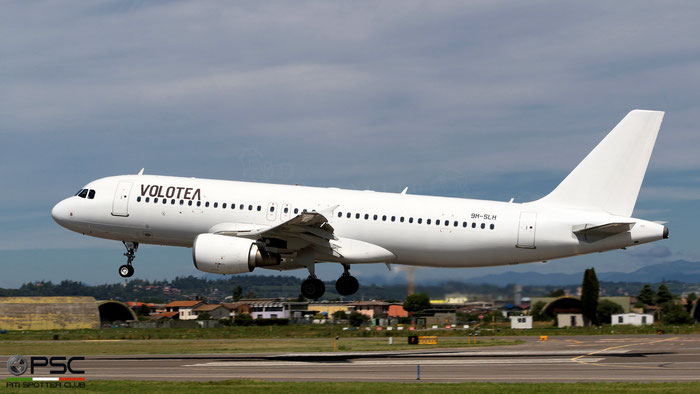 9H-SLH  A320-214  3425  SmartLynx Malta  @ Aeroporto di Verona 09.2021 © Piti Spotter Club Verona