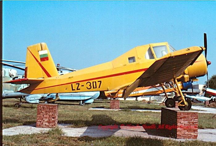 LZ-307 - Bulgaria - Air Force Zlin Z-37A Cmelak
