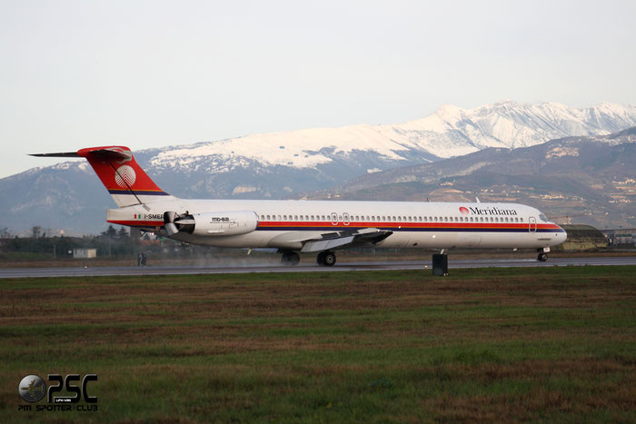 I-SMER  MD-82  49901/1766  Meridiana  @ Aeroporto di Verona © Piti Spotter Club Verona