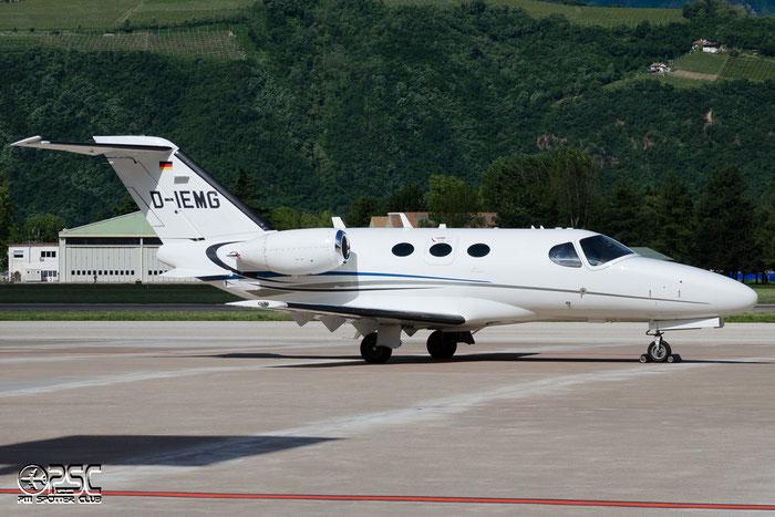 D-IEMG Ce510 510-0274 Emfly GmbH @ Aeroporto di Bolzano © Piti Spotter Club Verona