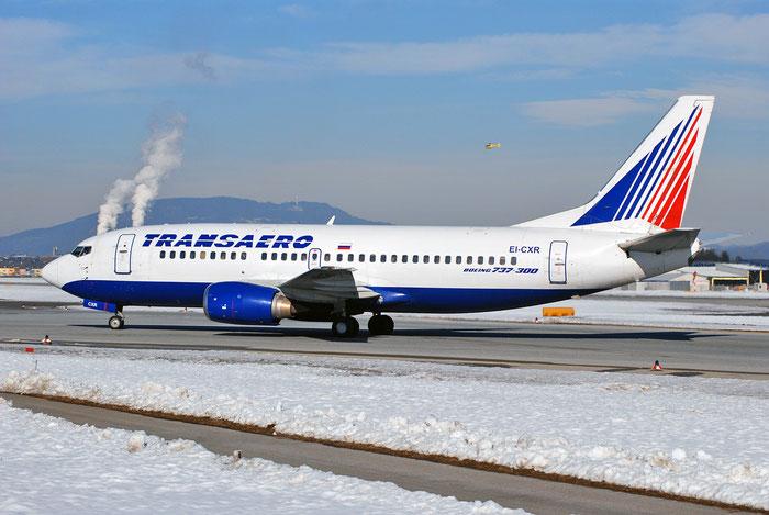 EI-CXR B737-329 24355/1709 Transaero Airlines @ Salzburg Airport 2011 © Piti Spotter Club Verona