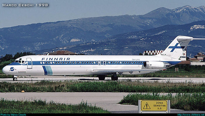 OH-LYU DC-9-51 47771/883 @ Aeroporto di Verona © Piti Spotter Club Verona