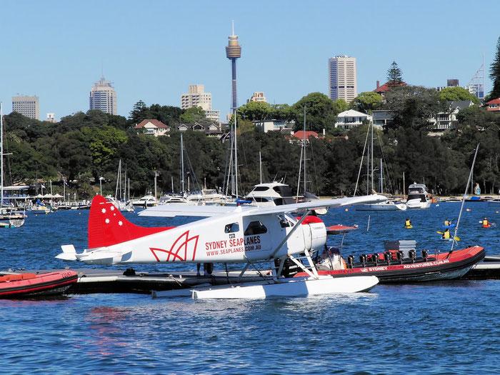 VH-NOO De Havilland Canada DHC-2 Mk.I Beaver @ Sydney .2011 © Piti Spotter Club Veron