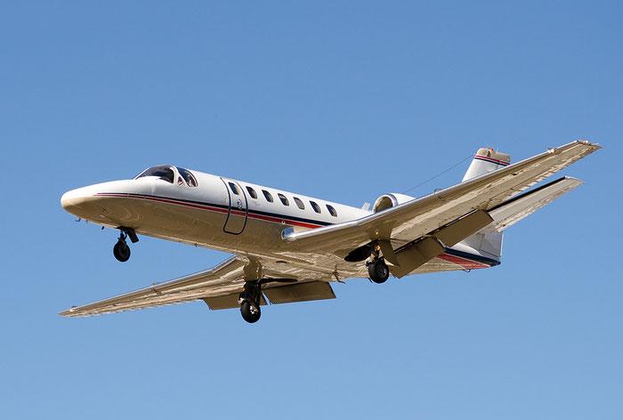 N560GT Ce560 Encore 560-0588 Wells Fargo Bank @ Aeroporto di Bolzano © Piti Spotter Club Verona