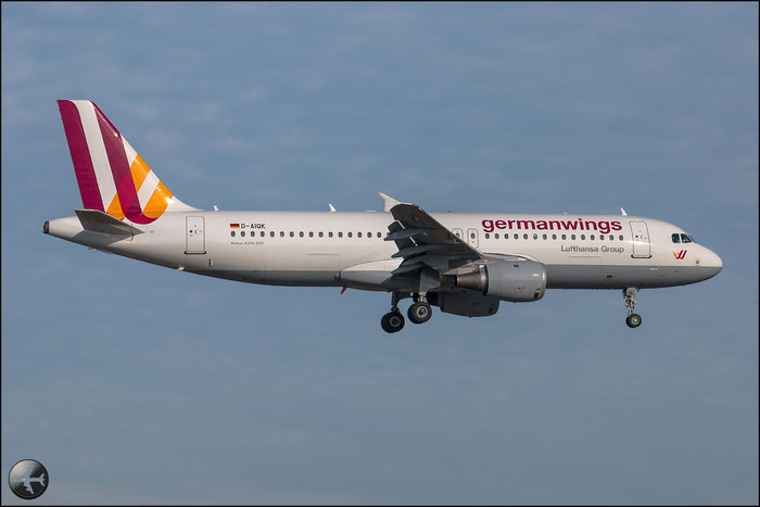 D-AIQK A320-211 218 Germanwings @ Bologna Airport 02.01.2015 © Piti Spotter Club Verona