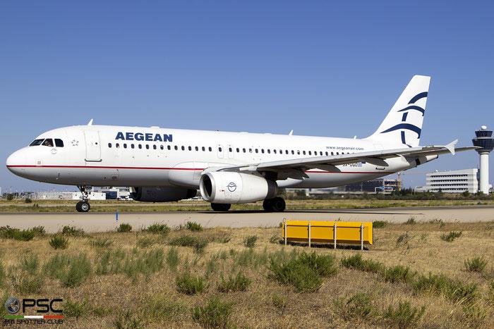 SX-DGO  A320-232  3519  Aegean Airlines  @ Athens 2019 © Piti Spotter Club Verona
