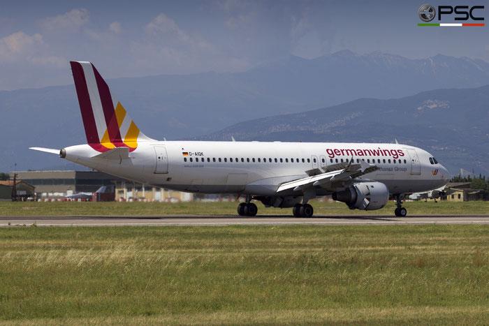 D-AIQK A320-211 218 Germanwings @ Aeroporto di Verona 23.07.2018  © Piti Spotter Club Verona