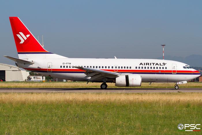 EI-FFM B737-73S 29082/229 Air Italy @ Aeroporto di Verona 30.06.2018  © Piti Spotter Club Verona