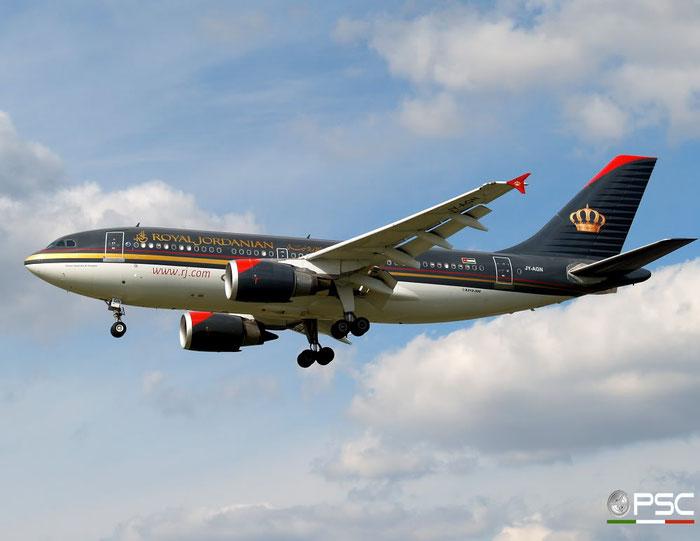 JY-AGN A310-304 531 Royal Jordanian @ London Heathrow Airport 15.04.2008 © Piti Spotter Club Verona