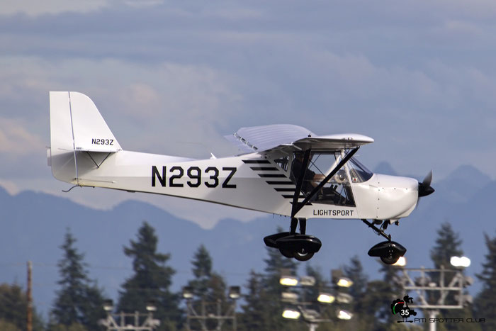 N293Z 2013 EVOLUTION AIRCRAFT INC APOLLO LSA @ Paine Field Airport 23.09.2015 © Piti Spotter Club Verona
