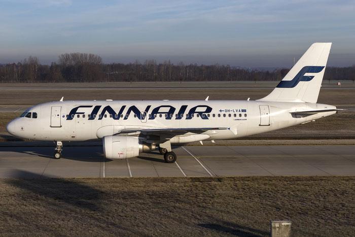 OH-LVA A319-112 1073 Finnair @ Munich Airport 28.12.2015 © Piti Spotter Club Verona