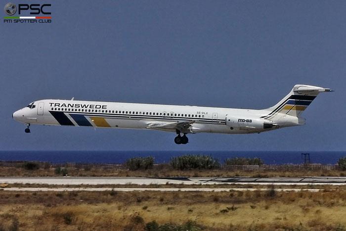 SE-DLX MD-83 49966/2047 Transwede Airways © Piti Spotter Club Verona
