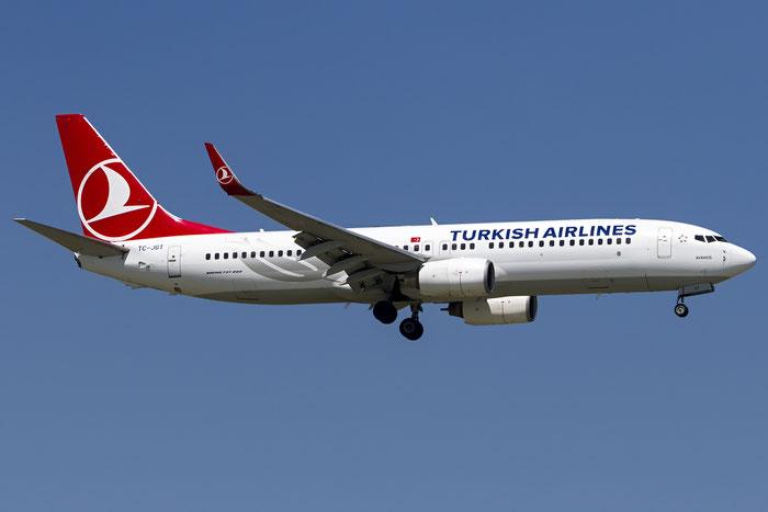 TC-JGT B737-8F2 34417/2009 Turkish Airlines - THY Türk Hava Yollari @ Venezia Airport 18.06.2016 © Piti Spotter Club Verona