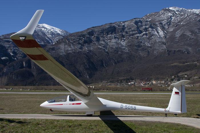 D-5058 - Glaser-Dirks DG-505 Elan Orion - Private @ Aeroporto di Trento © Piti Spotter Club Verona